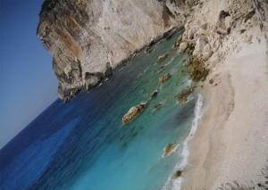Erimitis Beach in Paxos.