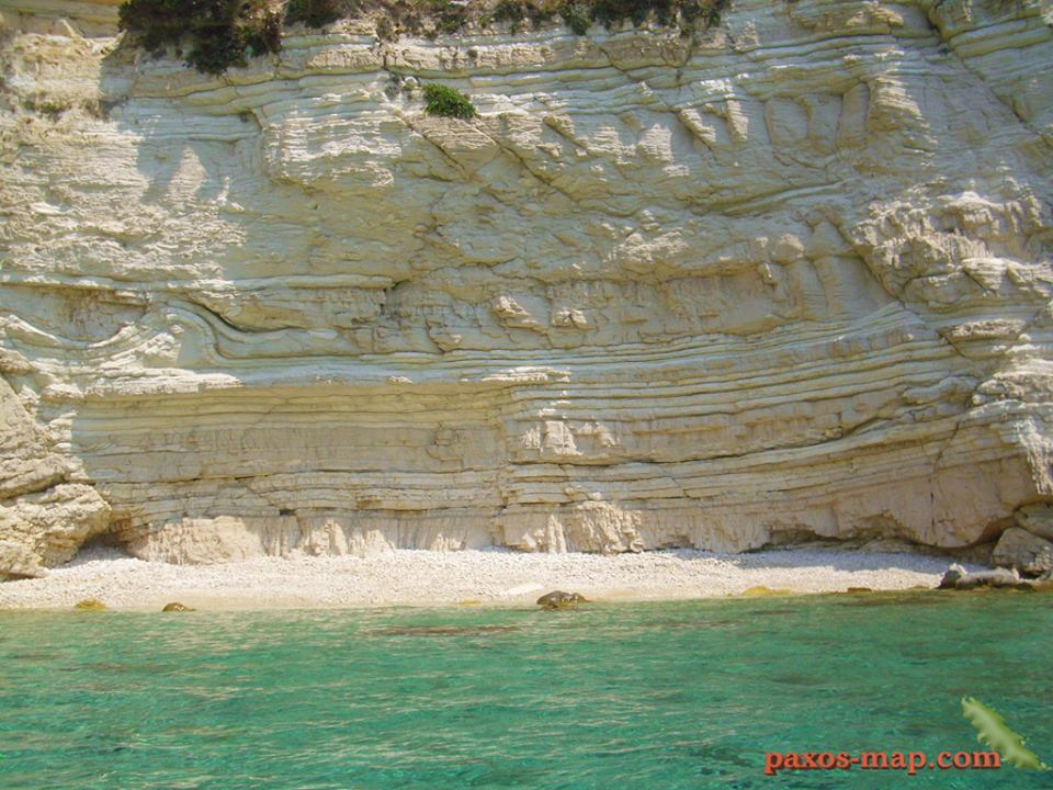Beach on Antipaxos Island.